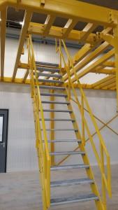 uitbreiding Enza Zaden - Bordessen trap detail