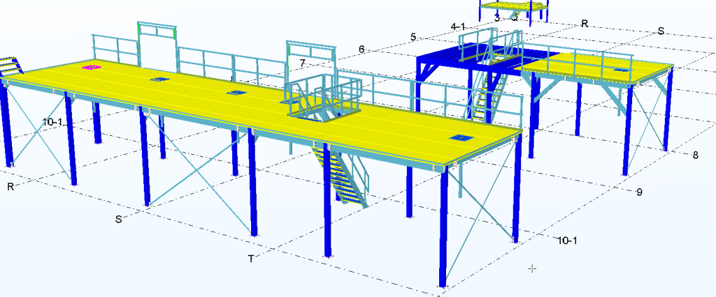 uitbreiding Enza Zaden - Bordessen 3D Tekla model