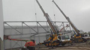 Montage staalconstructie Vandersterre