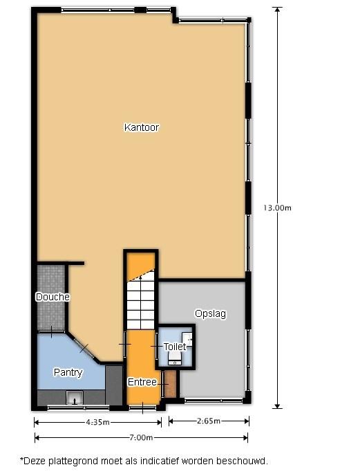 Te huur Witte Paal 347 plattegrond1