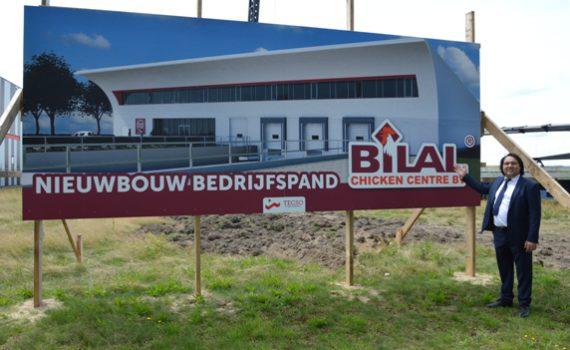 Nieuwbouw bedrijfspand Bilal Chicken