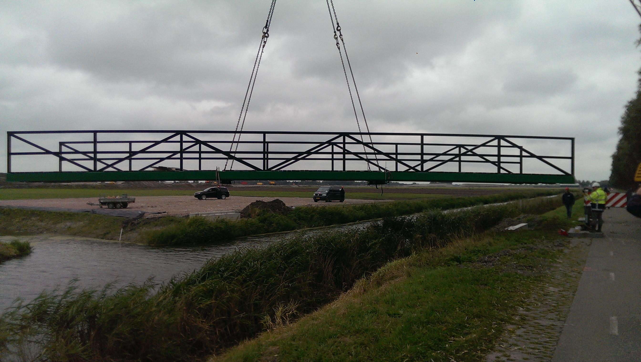 De geoptimaliseerde brug in de kraan
