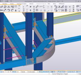 Werkplaatstekeningen - Constructie detail in Tekla 2016i
