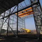 Kraanbaan staalconstructie Sloot Tankbouw