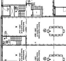 Bouwkundig tekenwerk - detail plattegrond