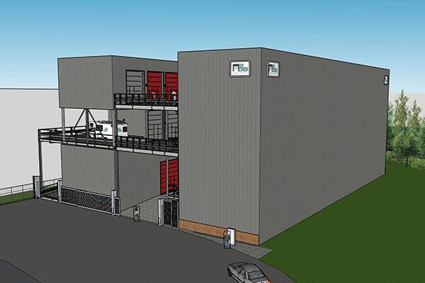 Project uitgevoerd door SASbv - De Box Velsen Noord